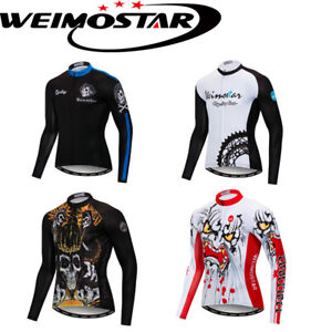 Image is loading Weimostar-2018-Cycling-Jersey-Tops-Team-Bike-Shirt- d2987856e