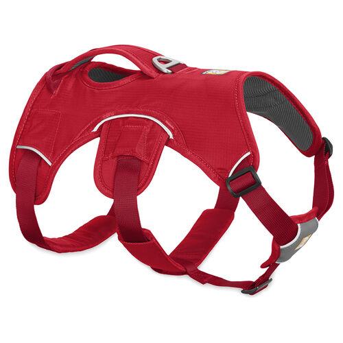 Ruffwear Pettorina per cane WEB MASTER™ PETTORINA rosso Ribes, varie misure, NUOVO