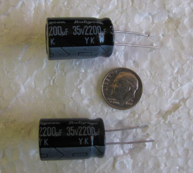Electrolytic Capacitor 2200uf 35v 85 ° C Radial 16x25mm