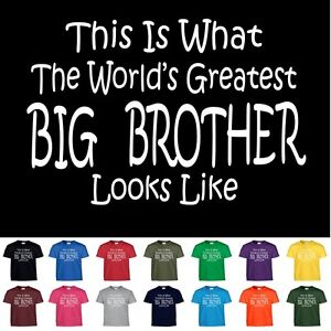 Image Is Loading Worlds Greatest BIG BROTHER Birthday Gift Boys Youth