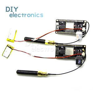 TTGO-Lora-32-V2-0-868-915Mhz-ESP32-Tarjeta-SD-Lora-OLED-0-96-Pantalla-Azul-nos