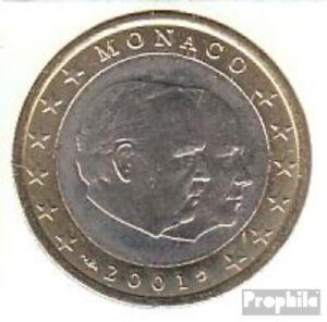 Monaco-MON-7-2001-Stgl-ongecirculeerd-2001-Kursmunze-1-Euro
