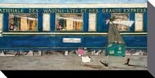 Sam TOFT (Orient Express ooh la la impresión de Lona) Caja de 50 X 100cm