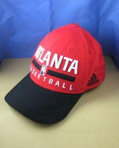 timeless design c66c7 d4326 Image is loading Adidas-NBA-ATLANTA-HAWKS-BASKETBALL-SNAPBACK-HAT-Youth-