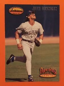 1993-Ted-Williams-Card-Co-Juan-Gonzalez-Dawning-of-a-Legacy-151-EX