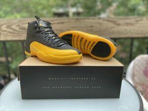 Nike Air Jordan 12 Black Gold Mens Size 11 100 Legit Free