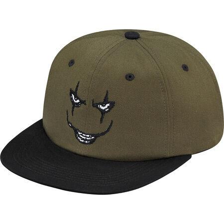 SUPREME Creep 6-Panel Dark Grey Purple Olive box logo camp cap hat tnf F//W 16