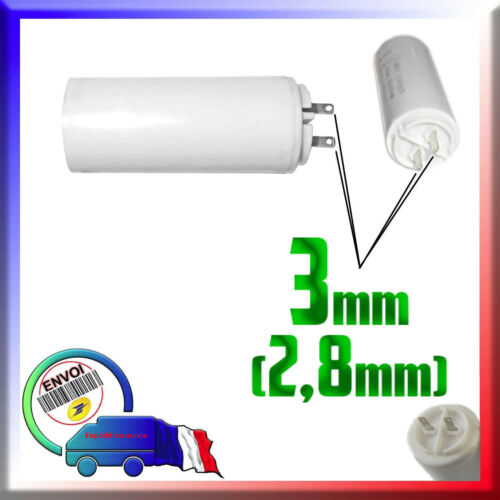 Condensateur de démarrage moteur 6μF / 6uF pour moteur Groupe électrogène Honda