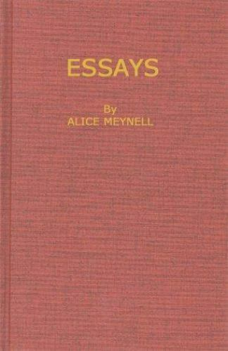 Essays by Alice C. Meynell (1970, Hardcover, Reprint)