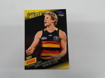 100% True 2017 Afl Select Hilites Card Sh18 Rory Sloane Adelaide 171/310 Sports Trading Cards Sports Mem, Cards & Fan Shop