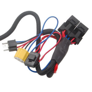 car h4 headlight fix dim light relay wiring harness system. Black Bedroom Furniture Sets. Home Design Ideas