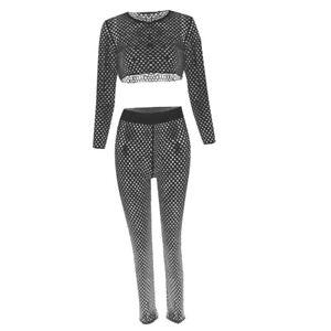 the best attitude 18188 d8b16 Dettagli su Bikini Cover Up Copricostume Estivo Crop Top Pantaloni Costume  Da Bagno