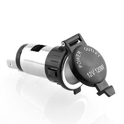 12V Car Motorcycle Cigarette Lighter Socket  Plug Outlet Power Parts 1pc