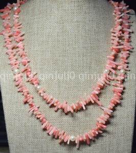 120cm-genuine-branch-pink-coral-white-freshwater-pearl-necklace-JN1586