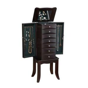 Jewelry Armoire in Java - 16 x 12 x 40H        16000 Alberta Preview