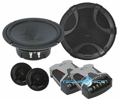 "HERTZ ESK-165.5 +2YR WARANTY CAR 6.5"" 300W PEAK 2 WAY COMPONENT SPEAKERS SYSTEM"