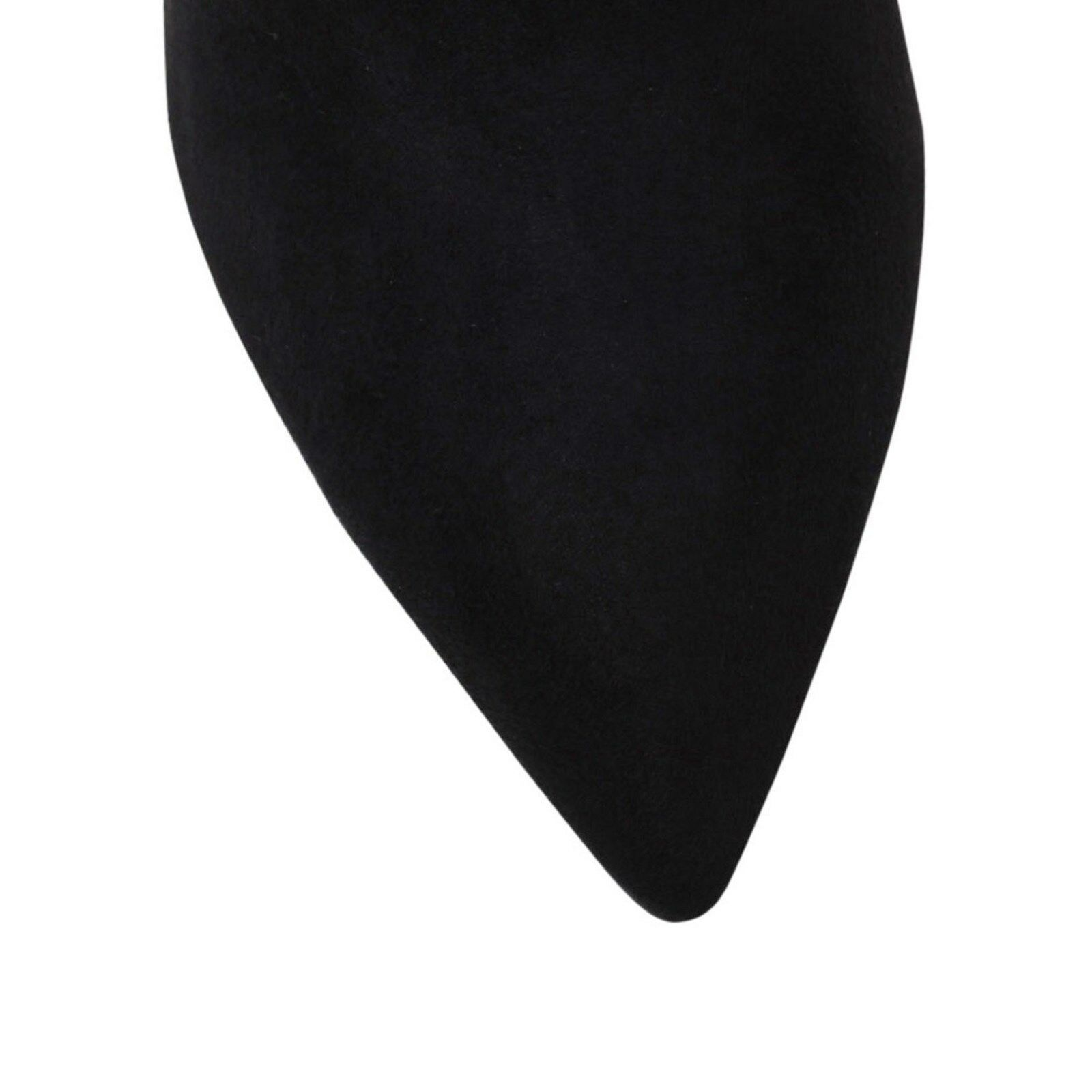 BNWOB 6 7 8 MISS MISS MISS KG KURT GEIGER SLIMLINE BLACK OVER THE KNEE THIGH OTK Stiefel 9ad5da
