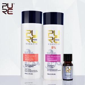 Pure-PURC-8-Keratin-Treatment-100ml-Shampoo-Treatment-100ml-Argan-Oil-Set