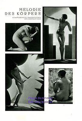 Generoso Melodia Del Corpo 1929 Xl Pagina 4 Fig. Erotico Femminile Atto Luce & Ombra-mostra Il Titolo Originale