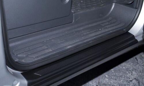 Plastic Door Sill Scuff Guard Scratches Trim Protectors Mercedes Vito W639 2003