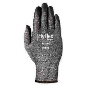 Ansell-1180110-Hyflex-Foam-Gloves-Dark-Gray-black-Size-10-12-Pairs