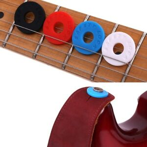 x12 New Dunlop 7036 Plastic Guitar Strap Locks Lok-Strap Black 6-Pairs 6-Sets