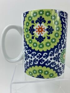 Fringe Studio Ceramic Floral Coffee Mug Cup Big 20 Ounce beautiful design