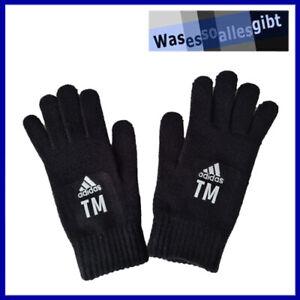 """SCHNÄPPCHEN! adidas Tiro Gloves mit Flock """"TM"""" \ schwarz \ Gr.: M \ #T 40067"""