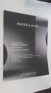 Catálogo De Venta Demuestra Fraysse & Asociado Drouot Mon 3 Dic 2007 Buen Estado