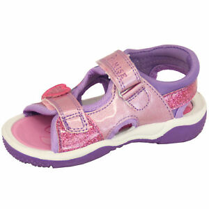 3edd56cffb81 Details about Girls Sandals My Little Pony Kids Floral Glitter Heart Strap  Sports Shoes Summer