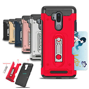 For-LG-G6-G7-Case-Heavy-Duty-Hard-PC-Soft-TPU-2-in-1-Card-Shockproof-Phone-Cover