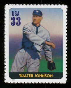 #3408i 33c Legendas De Béisbol: Walter Johnson, Nuevo Cualquier 5=