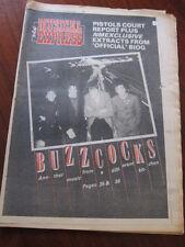 NME 12/3/77 Buzzcocks Sex Pistols Bob Geldof Led Zeppelin Brian Eno