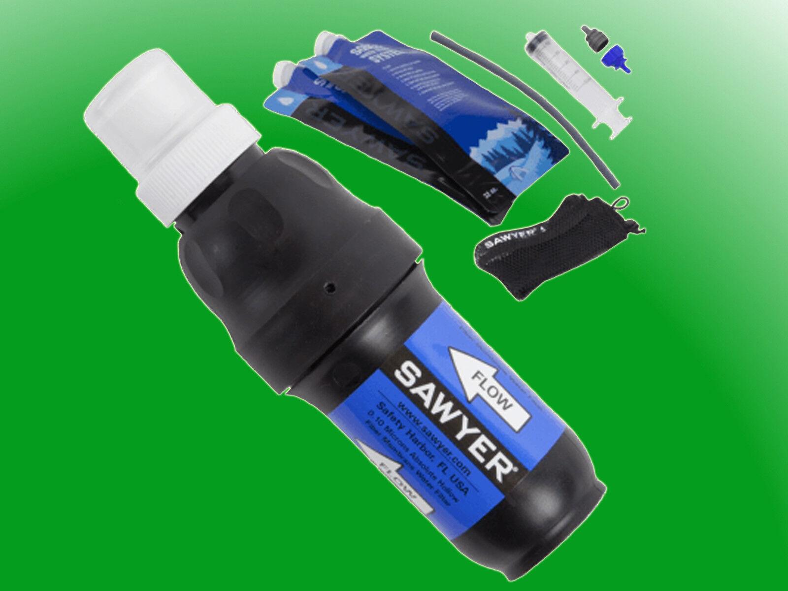 Sawyer Squeeze PointOne Water Filtration System SP129 - für Outdoor & Trekking