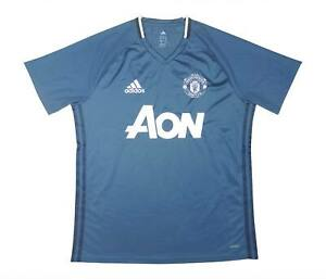 Manchester United 2016-17 originale camicia di formazione (eccellente) L soccer jersey