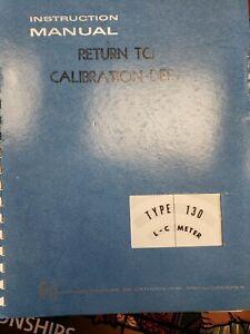 Original-Tektronix-Instruction-Manual-for-the-130-LC-Meter