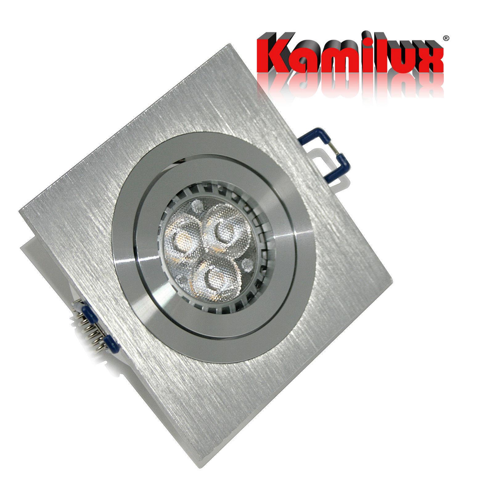 Premium LED Einbaustrahler Kanto 230V GU10 - LED 5W50W warmweiss oder kaltweiss   eine breite Palette von Produkten    Verschiedene    Fierce Kaufen