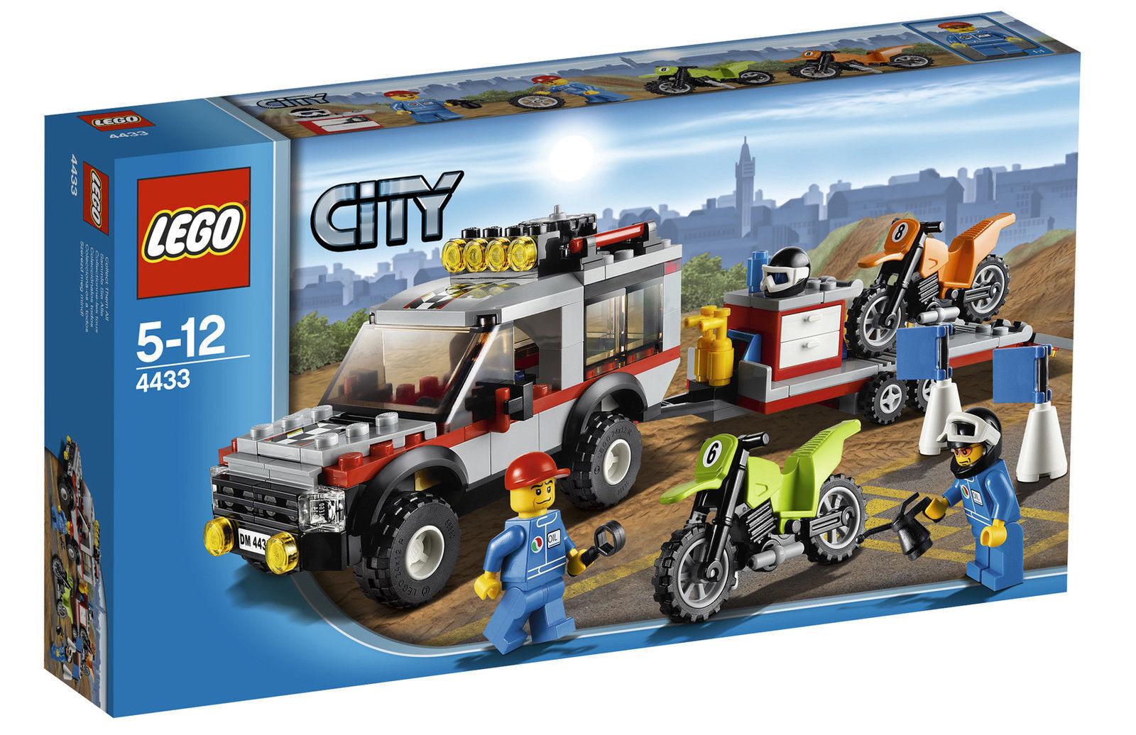 LEGO City Dirt Bike Transporter  4433