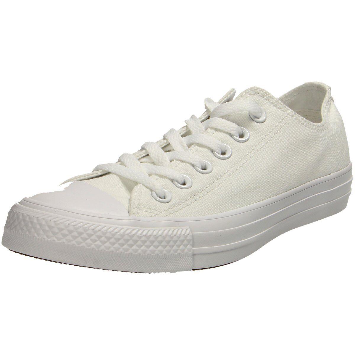 NEU Converse Damen All Sneaker Chuck Taylor All Damen Star Core Mono Sneaker Canvas weiss ef431f