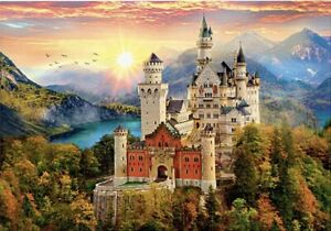 "Puzzles 2000 pieces 96*68 cm ""Fairytale castle"" Step Puzzle 84031."