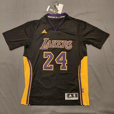 NWT Kobe Bryant Lakers Adidas Hollywood Swingman Rev30 size S Sleeve Jersey | eBay