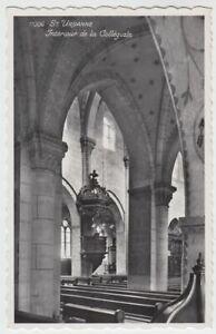 53628-Foto-AK-St-Ursanne-Interieur-de-la-Collegiale-nach-1945