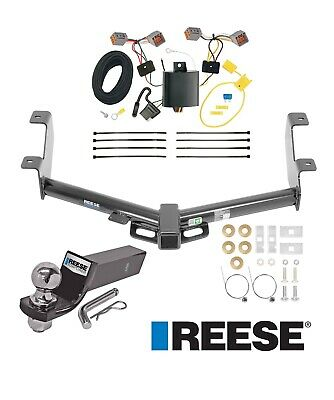 Reese Towpower 44702 Class III Custom-Fit Hitch with 2 Square Receiver Opening Includes Hitch Plug Cover