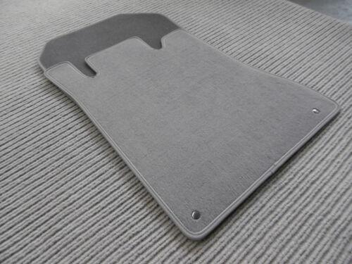 Velours GRAU NUBUK NEU $$$ Lengenfelder Fußmatten für Mercedes Benz W140 SE