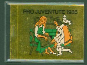 Schweiz-Suisse-Switzerland-1985-Pro-Juventute-Schneewittchen-MH-0-81