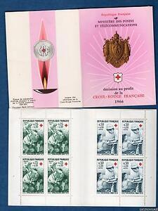 Carnet-Croix-Rouge-Numero-2015-Annee-1966-Au-profit-de-la-Croix-Rouge