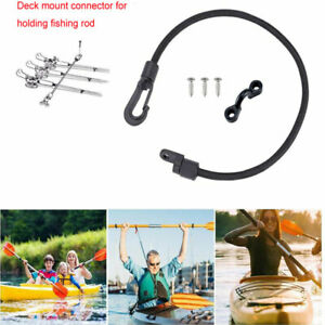 US-12-034-Boat-Fishing-Rod-Tamer-Strap-Saver-Deck-Mount-Connector-Marine-Poly-Holder