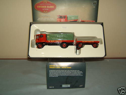 CORGI MODEL No.80007      SENTINEL WAGON +TRAILER   U.A.C.L.        MIB