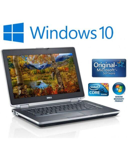 Windows 10 Dell Latitude E6430 14.1