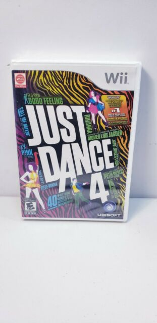 Just Dance 4 (Nintendo Wii 2012) New Sealed